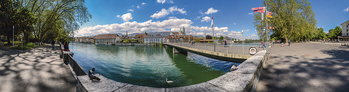 Aare bei Solothurn